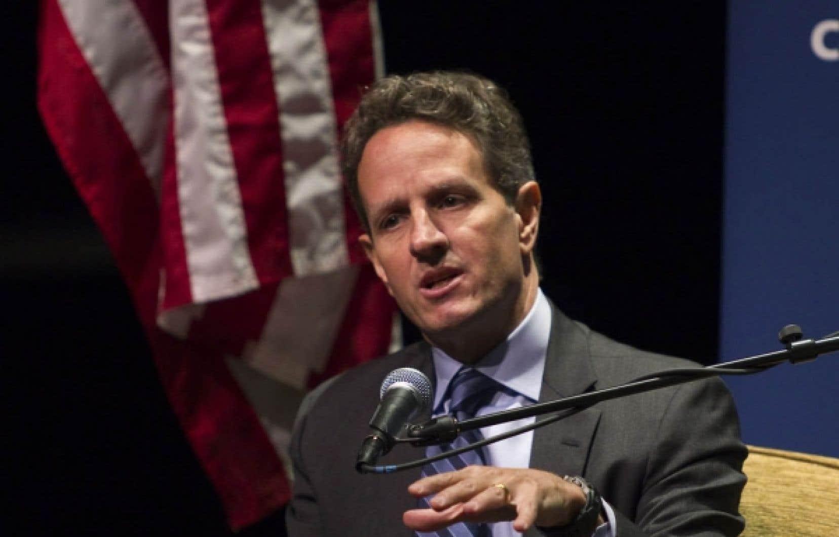 Timothy Geithner<br />
