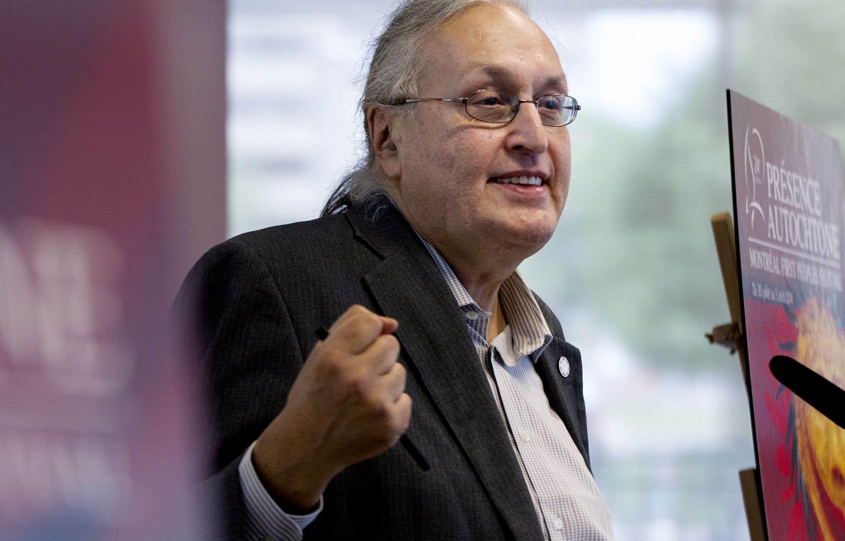 André Dudemaine, cofondateur et directeur artistique du festival Présence autochtone