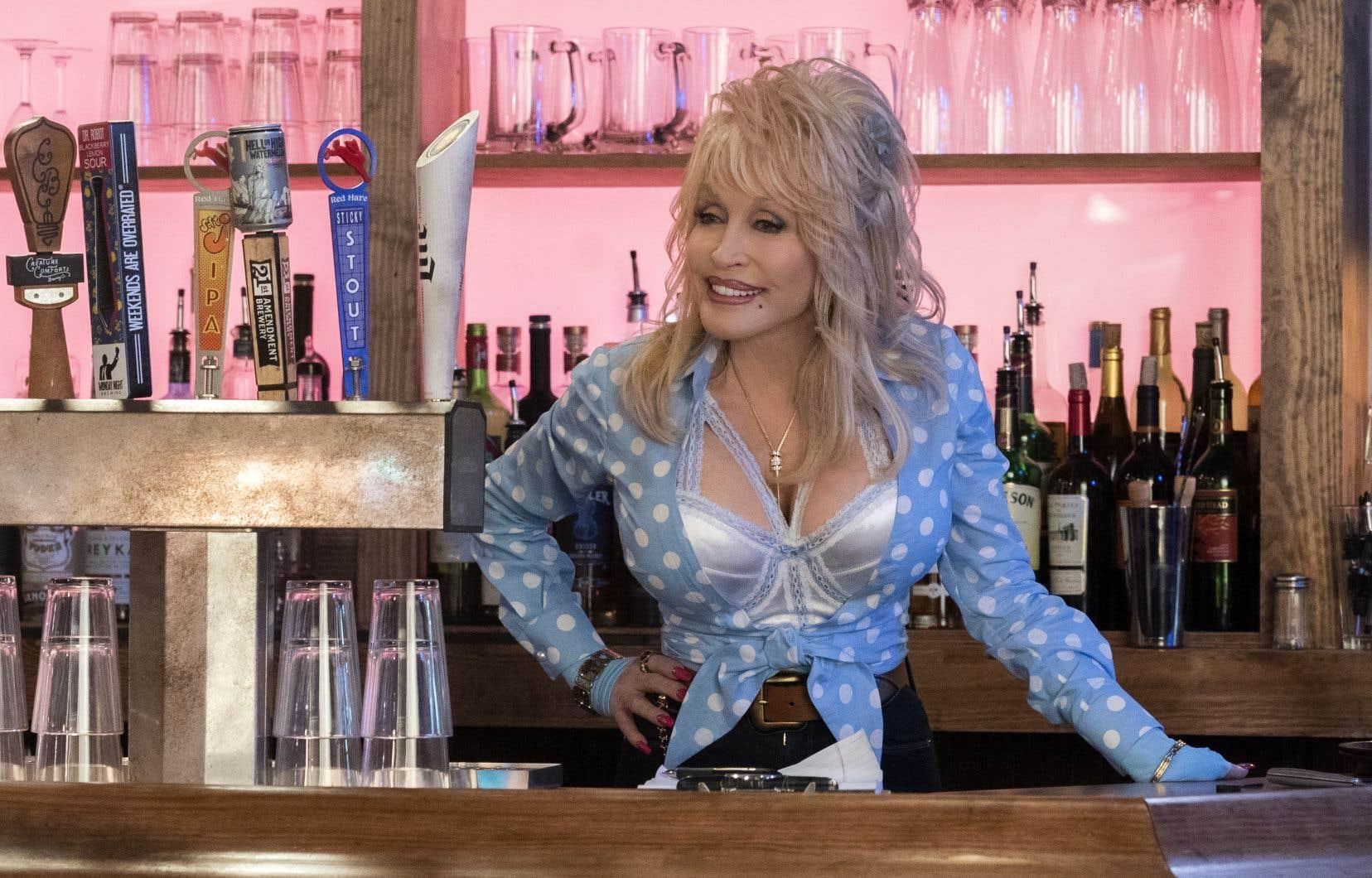 La chanteuse Dolly Parton