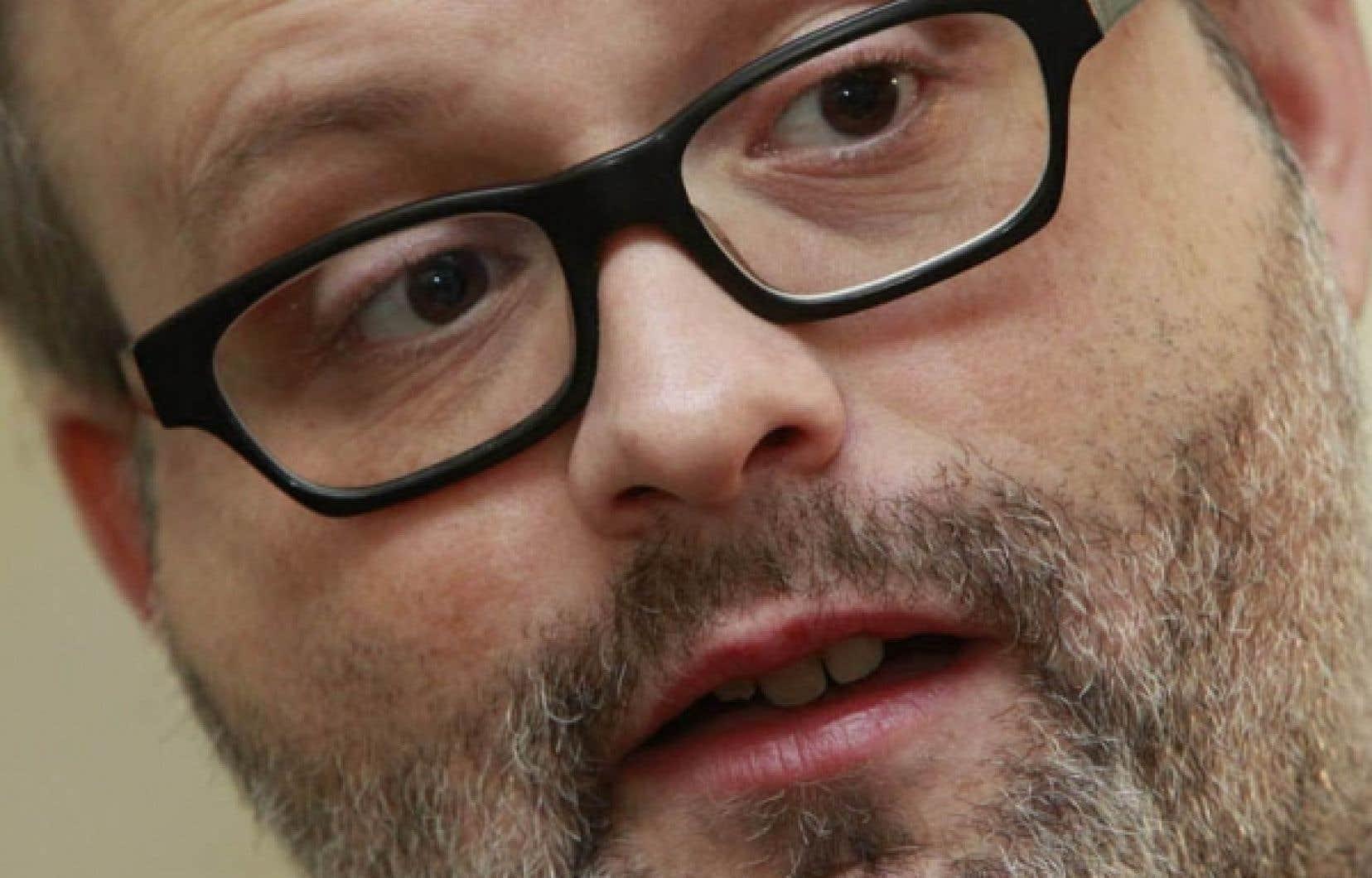 Denis Côté : «Je suis curieux de connaître le box-office de Curling.»<br />