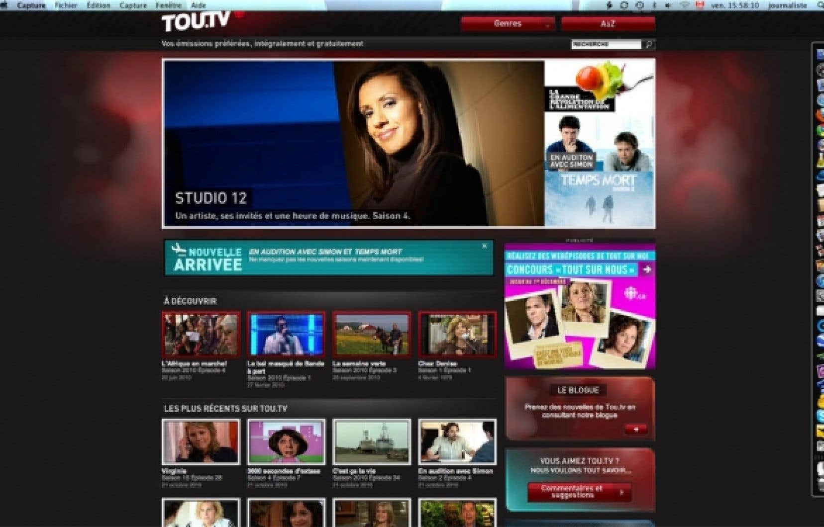 En neuf mois seulement, Tou.tv a généré 18 millions de branchements, dont la moitié des adultes de 18 à 35 ans.<br />