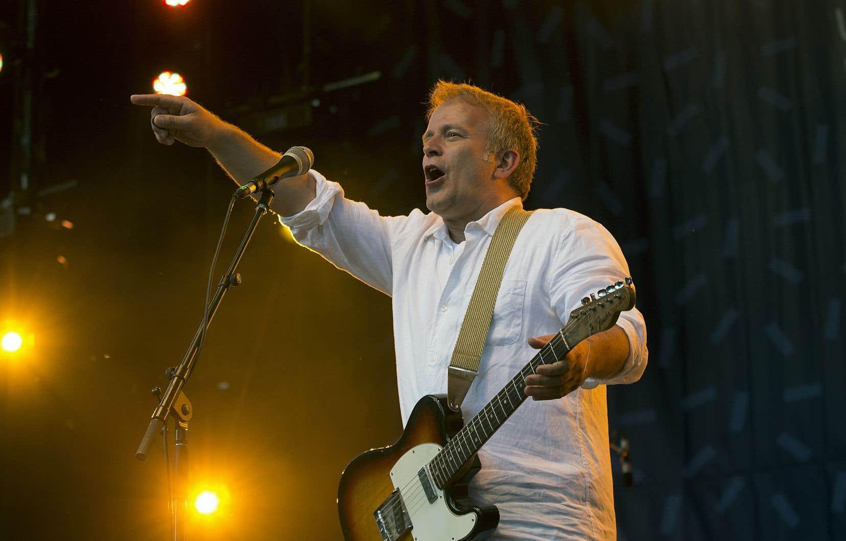 Marc Déry en concert aux Francos de Montréal en juin 2019