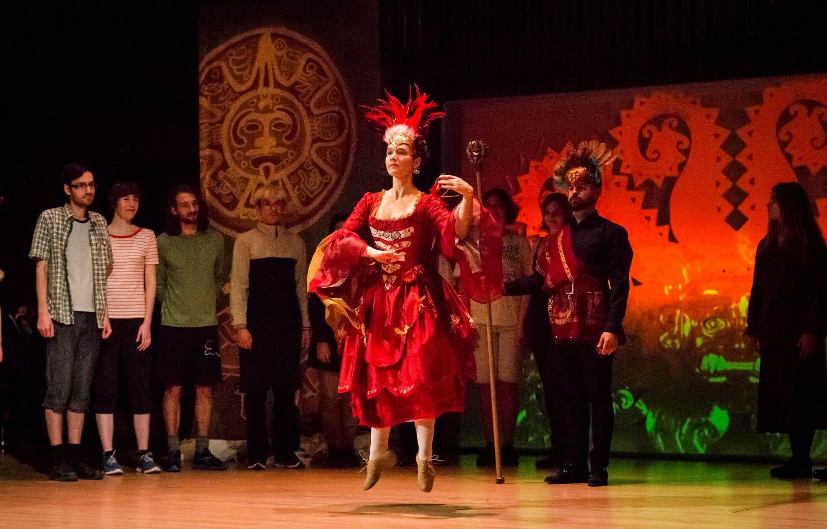 L'opéra baroque est parfois quasiment inchantable, et la représentation des «Indes galantes» de vendredi a été moyenne sur le plan vocal.