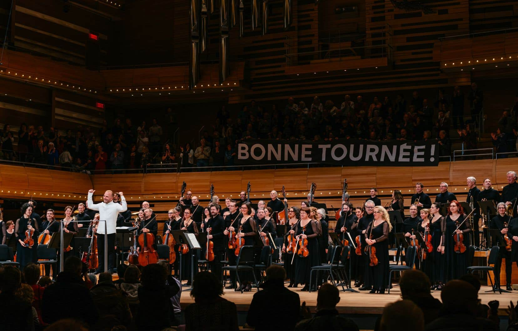 Parmi les raisons d'aller oser forcer le destin en allant jouer Bruckner aux États-Unis, il y a l'orchestre, et notamment ses cuivres. Ils ont été à la hauteur des espérances, de même que le clarinettiste Simon Aldrich.