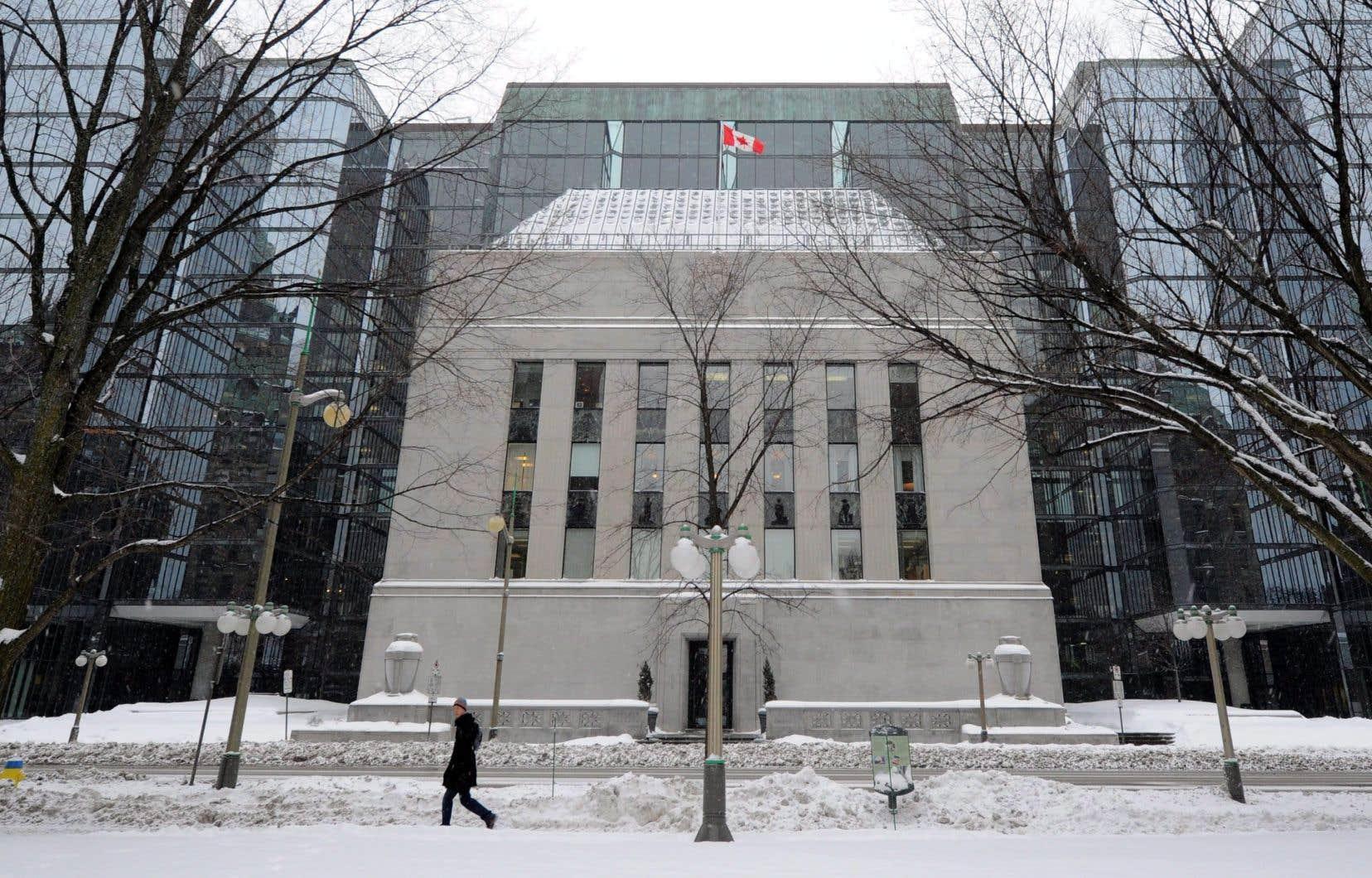 L'édifice de la Banque du Canada, à Ottawa