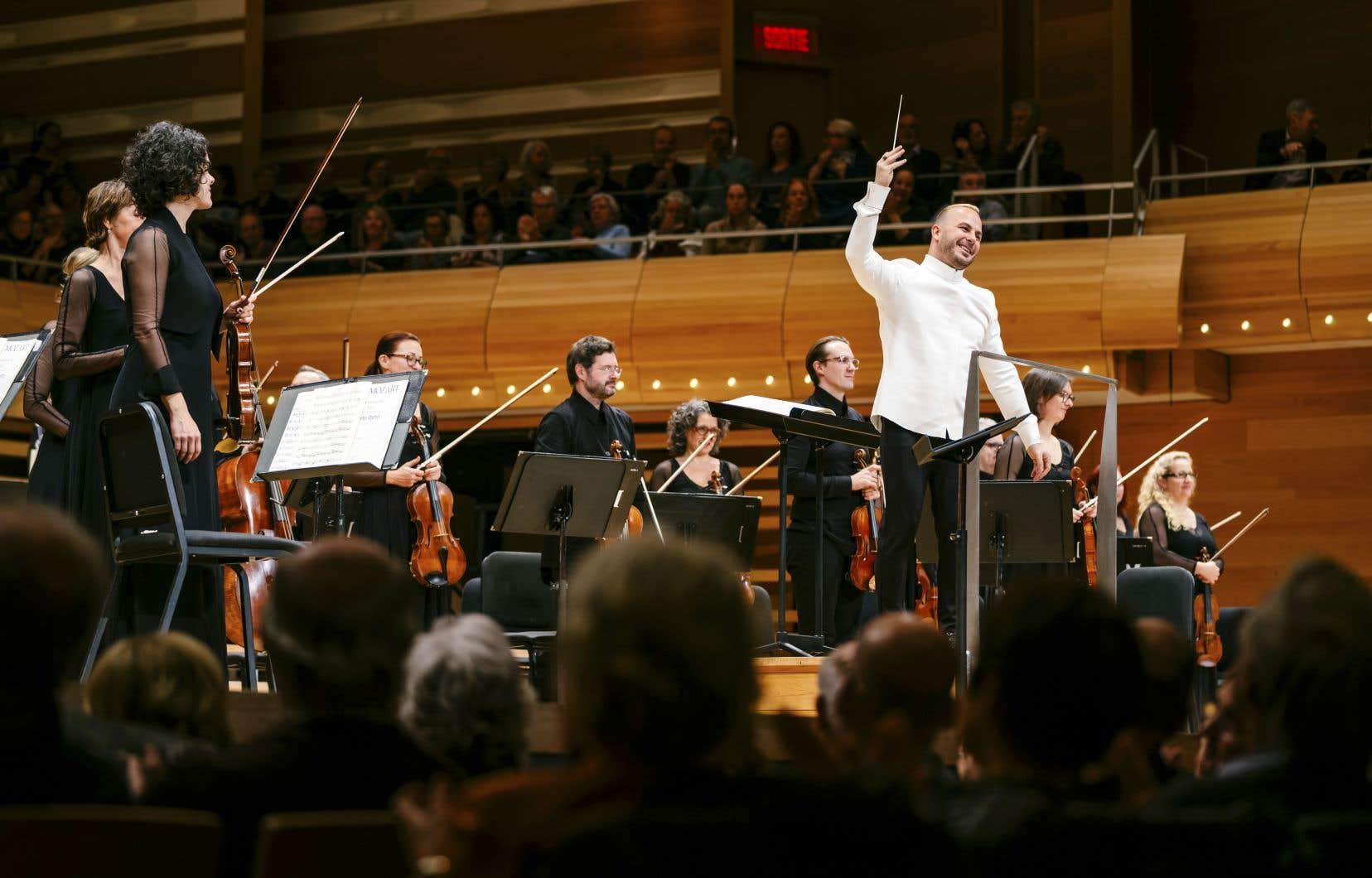 Le jour de l'annonce de sa nomination à vie à la tête de l'OM, Yannick Nézet-Séguin a partagé sa fierté d'être à la tête d'un orchestre ayant désormais un rayonnement international.