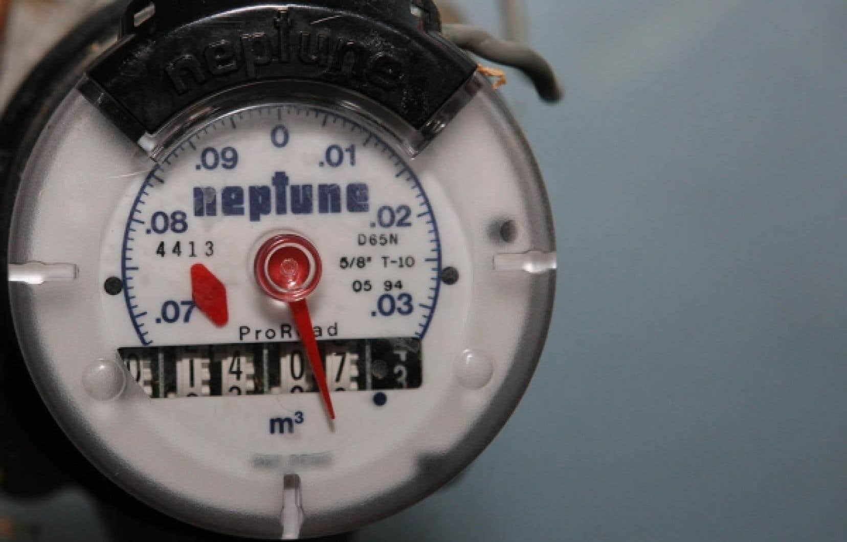 Des compteurs d'eau pourraient être installés partout si l'on se fie à l'opinion des Québécois sur la question.
