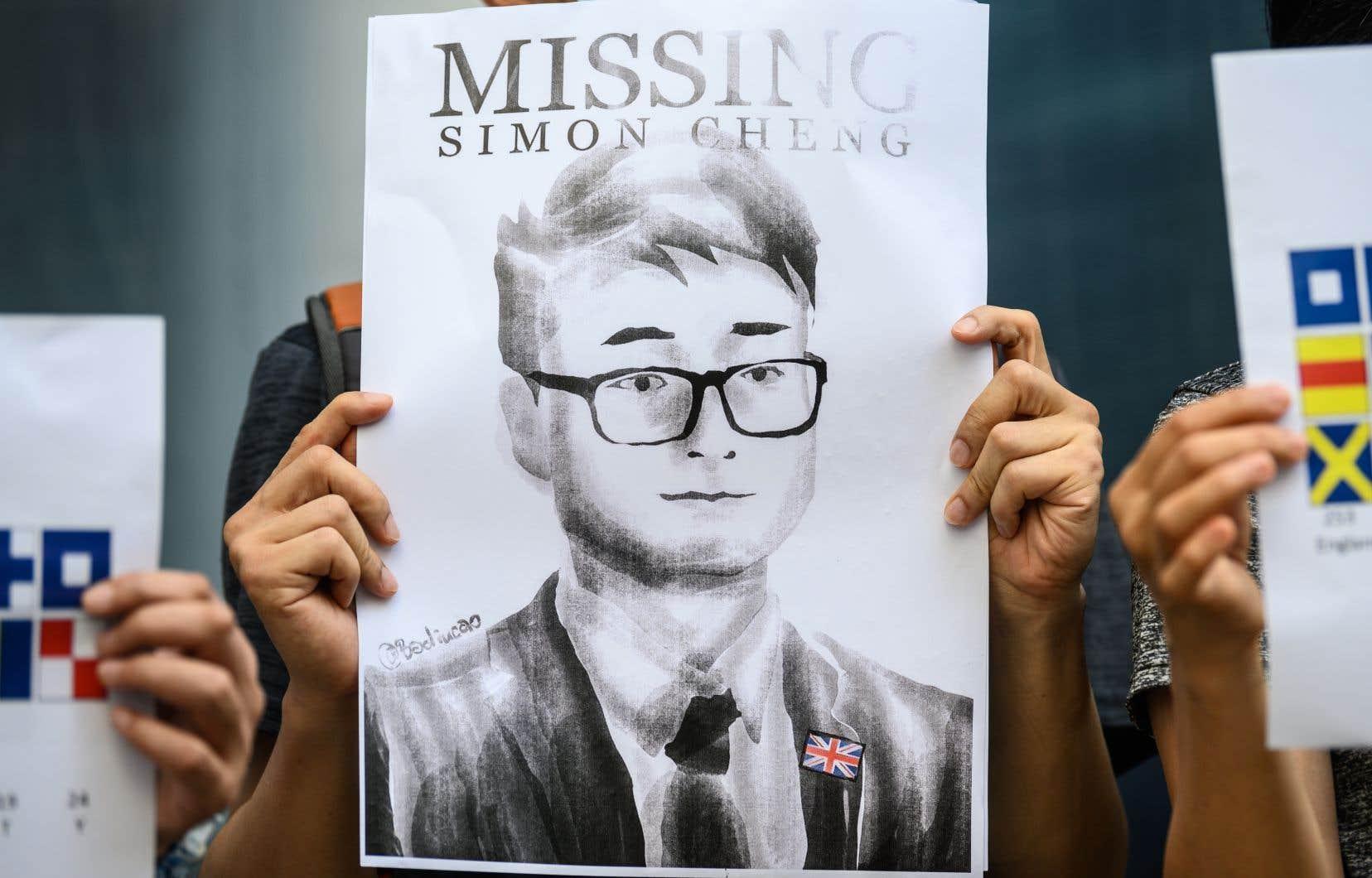 <p>Simon Cheng avait disparu le 8août après s'être rendu à Shenzhen, une ville frontalière de Hong Kong, territoire autonome du sud de la Chine en proie à cinq mois de manifestations.</p>