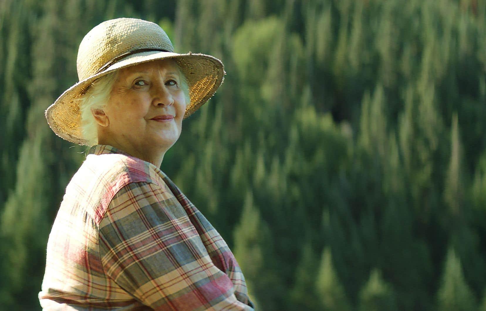 La comédienneAndrée Lachapelle dans le film «Il pleuvait des oiseaux»