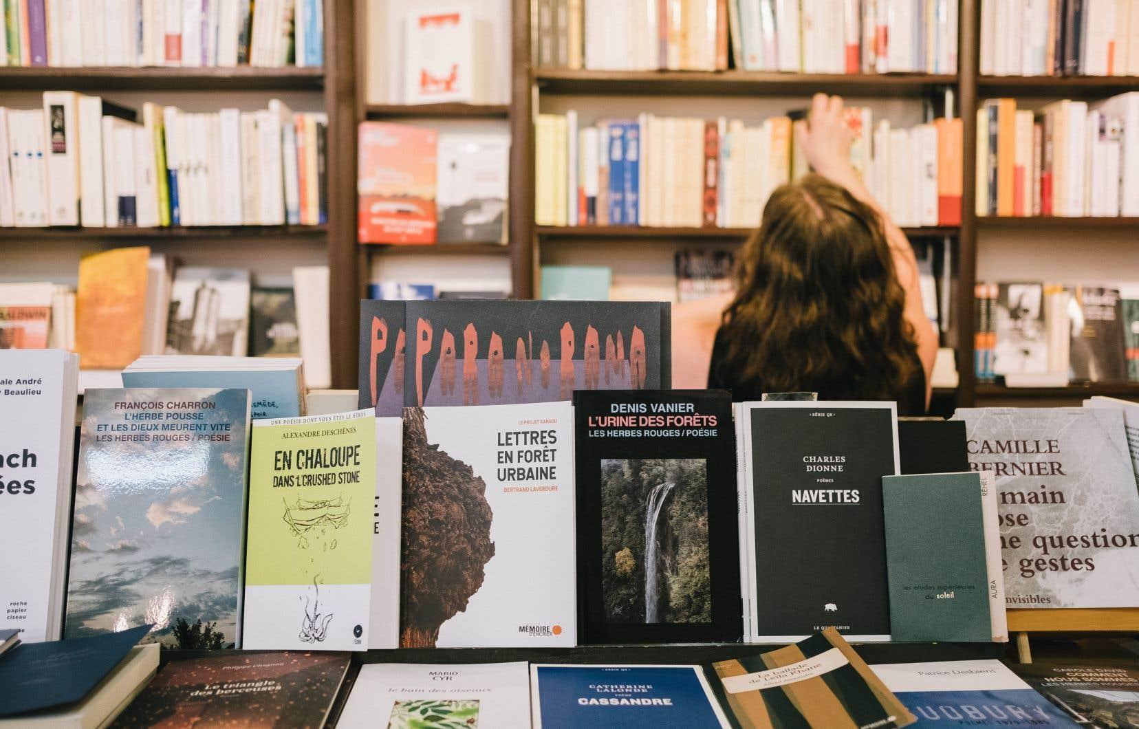 Au Québec, les manuscrits des femmes sont moins publiés que ceux des hommes (37% contre 54%).