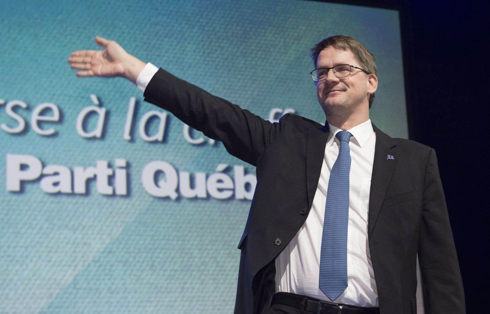 Sylvain Gaudreault a déjà été chef intérimaire du PQ, de mai à octobre 2016, pendant la course qui a mené à l'élection de Jean-François Lisée.