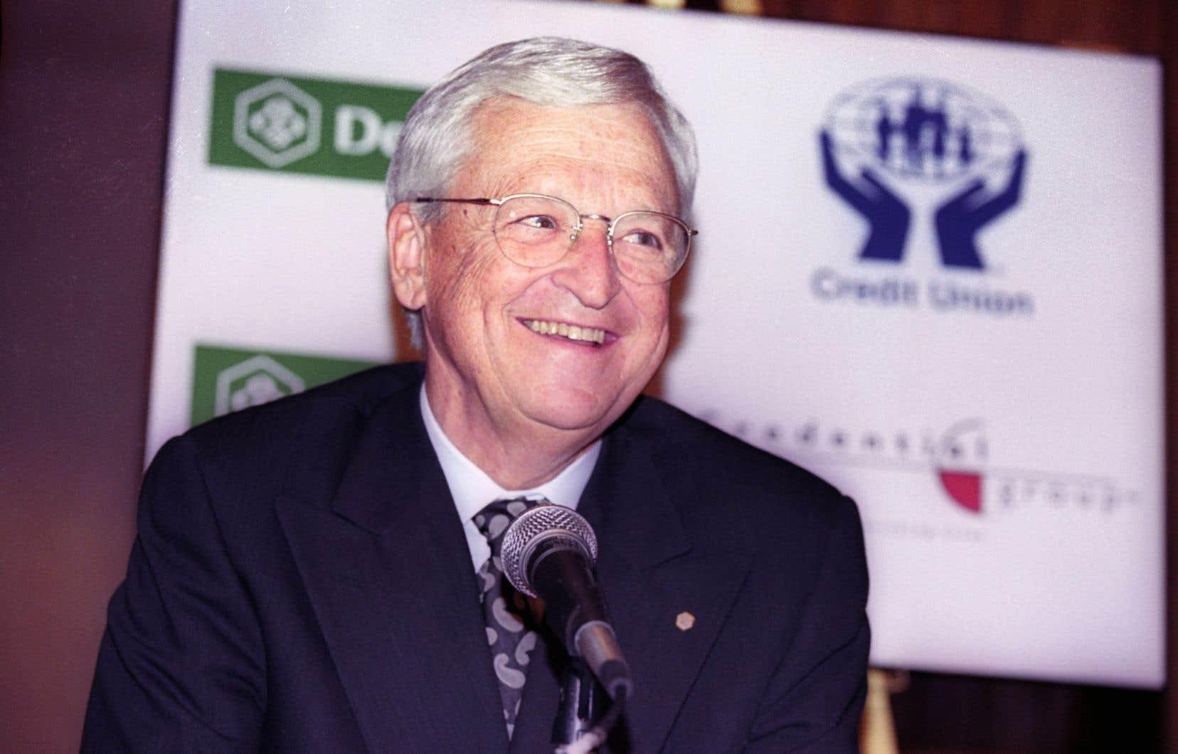 Claude Béland, président du Mouvement Desjardins de 1987 à 2000