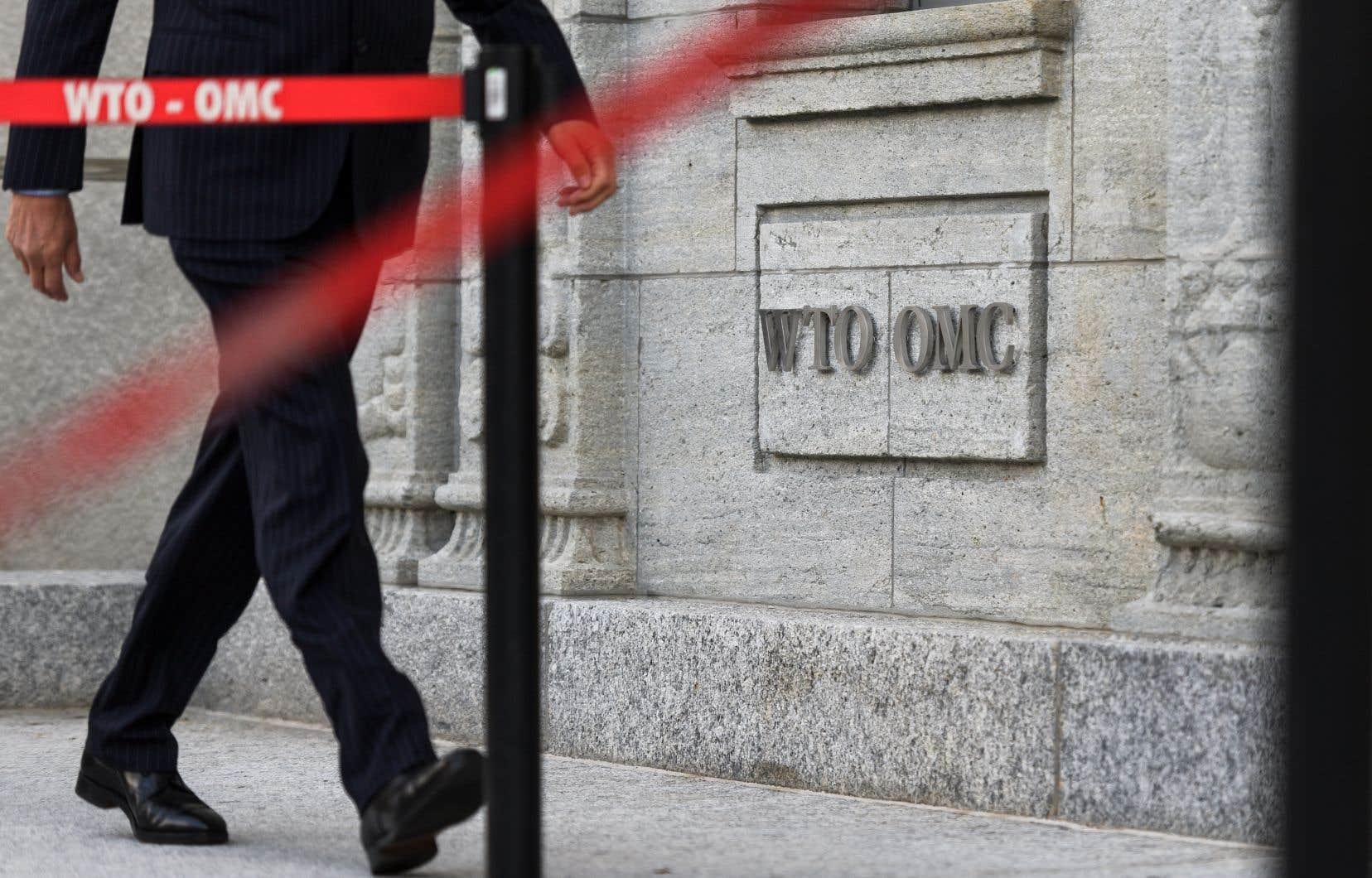 L'Organe d'appel de l'OMC doit normalement avoir sept membres, mais n'en compte plus aujourd'hui que le strict minimum exigé de trois.
