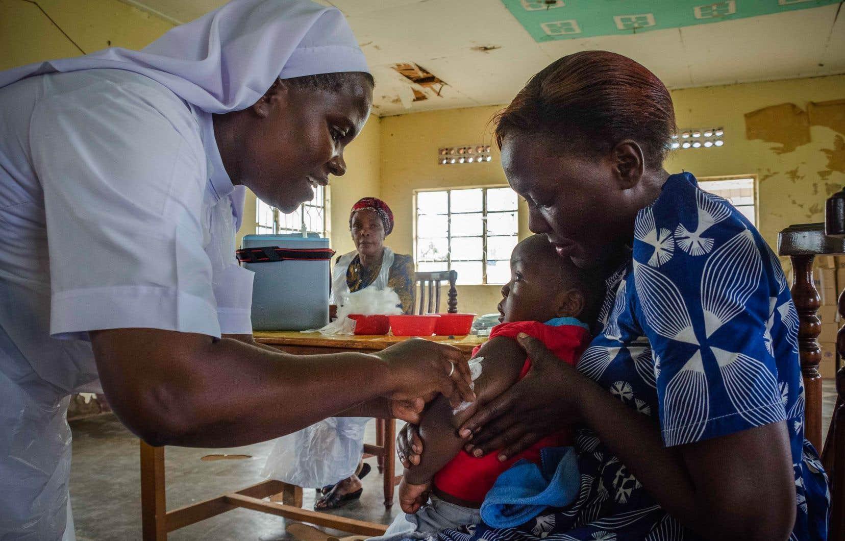 Avant l'arrivée des vaccins dans les années 1970, la rougeole tuait dans le monde 7 à 8millions d'enfants par an.