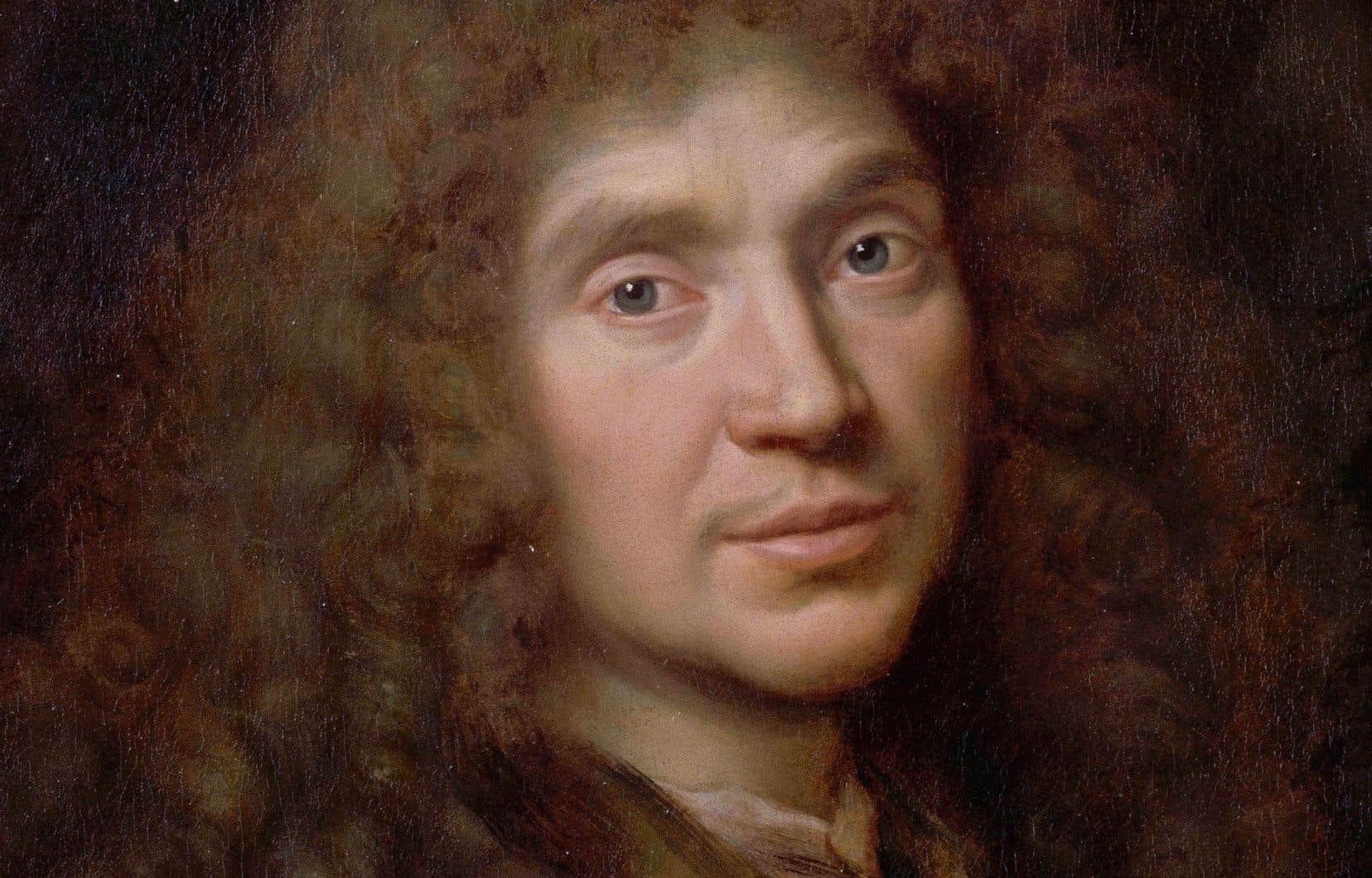 Le dramaturgeJean-Baptiste Poquelin, dit Molière