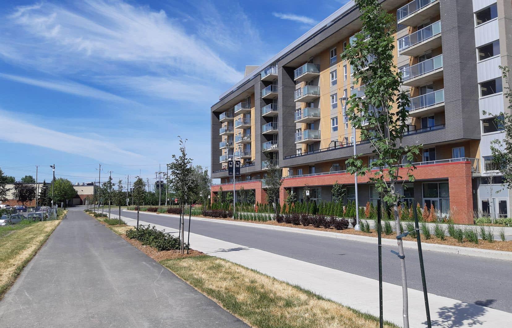 À Candiac, un écoquartier POD («Pedestrian Oriented Development») est sorti de terre cette année.