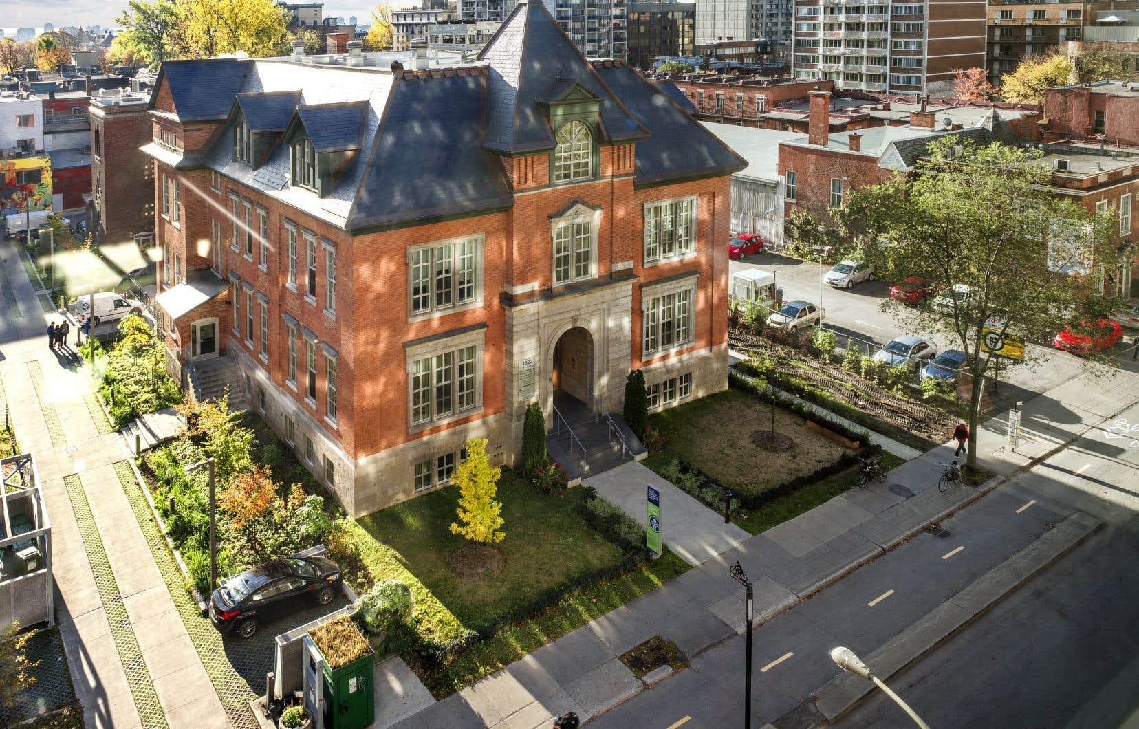 L'école Victoria, dans le Quartier 21