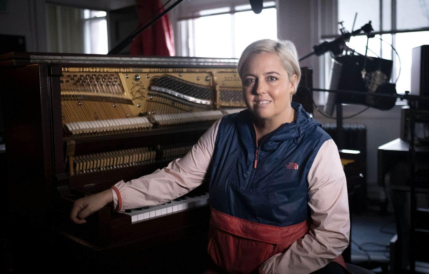 Ariane Moffatt s'est prêtée au jeu des capsules vidéo L'histoire d'une chanson du «Devoir».