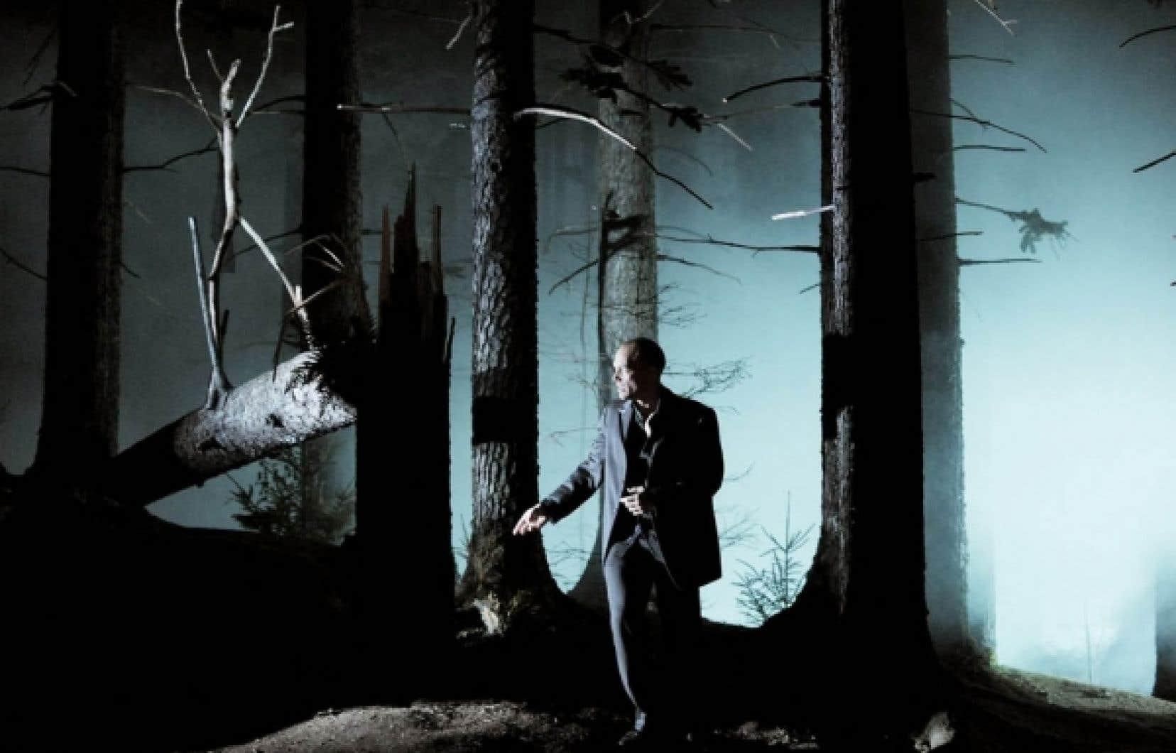 Une scène de Don Giovanni au Festival de Salzbourg<br />