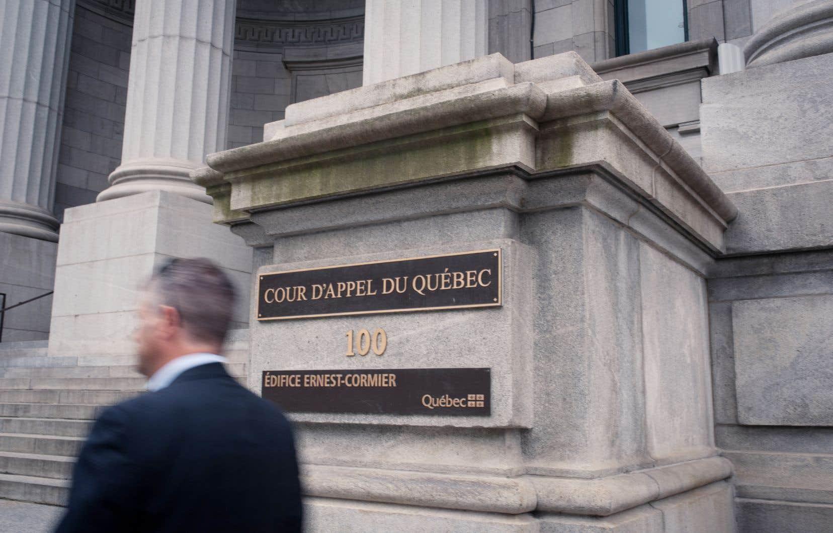La contestation de la loi est présentement en délibéré devant trois juges de la Cour d'appel, dont MmeDuval Hesler, qui doivent rendre leur décision prochainement.