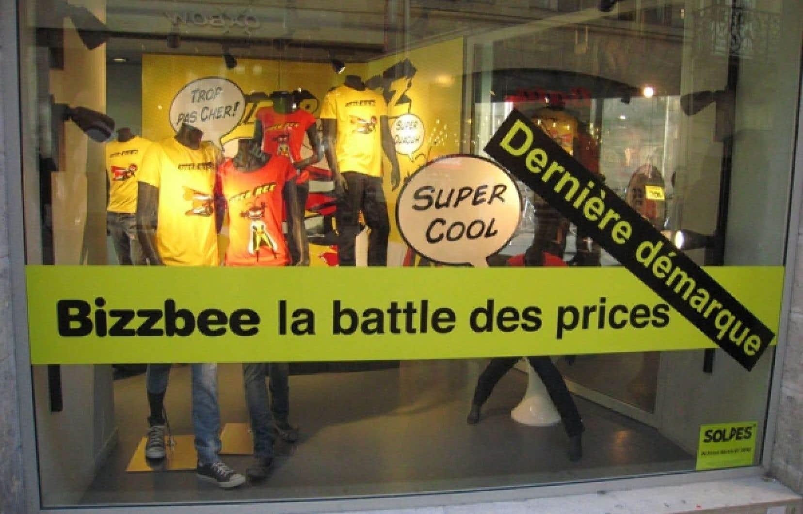 Photo prise rue Sainte-Catherine, à Bordeaux<br />