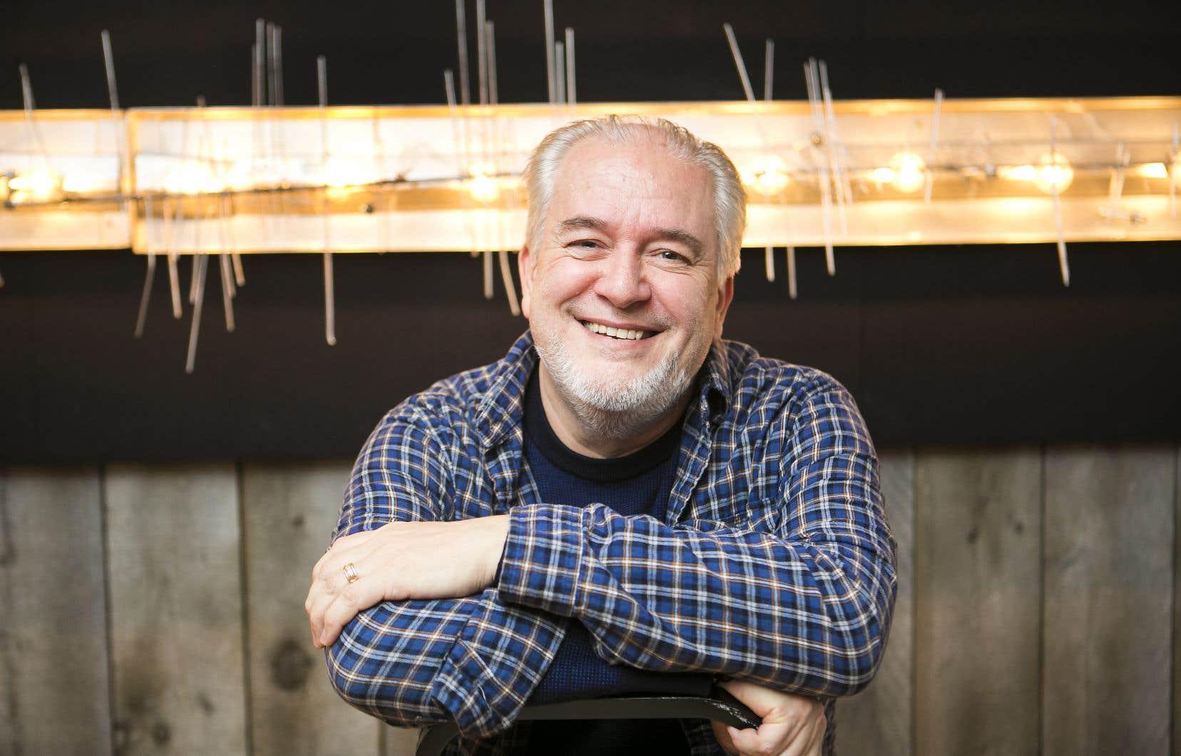 Didier Conrad est ledessinateur du tout dernier album d'Astérix,«La fille de Vercingétorix».