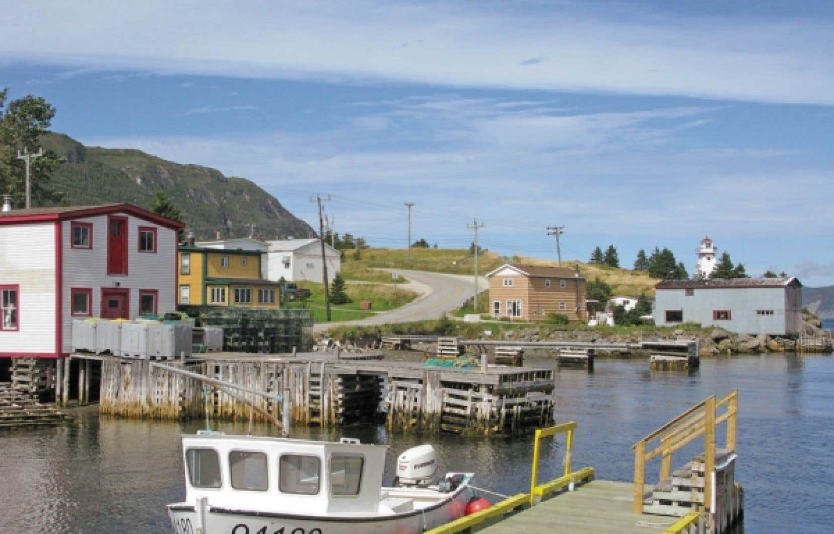 Le village de Woody Point.<br />