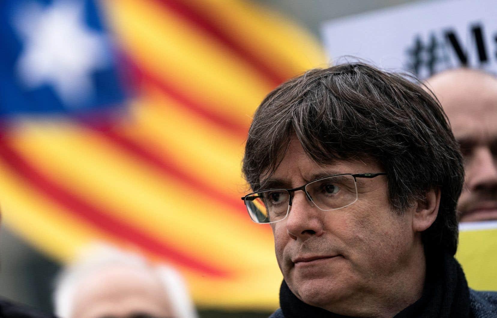 Dans sa lettre, l'ex-président catalan Carles Puigdemont trace «certains parallèles» entre le parcours historique du Québec et celui de la Catalogne.
