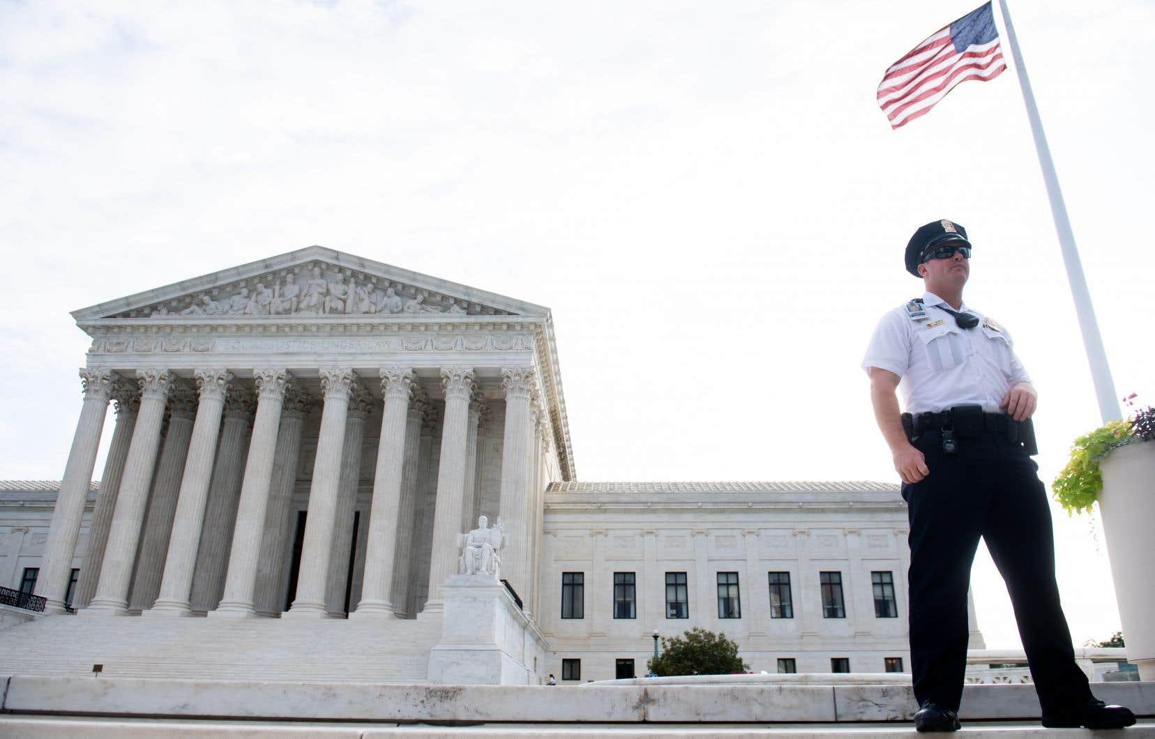 L'édifice de la Cour suprême des États-Unis, à Washington