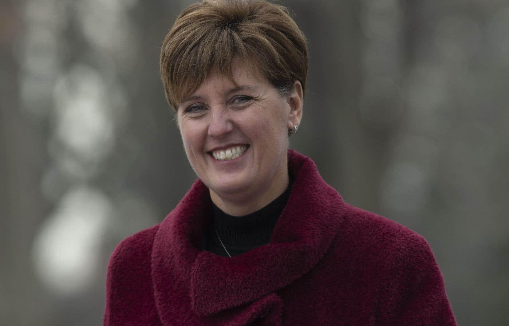 La ministre fédérale de l'Agriculture, Marie-Claude Bibeau