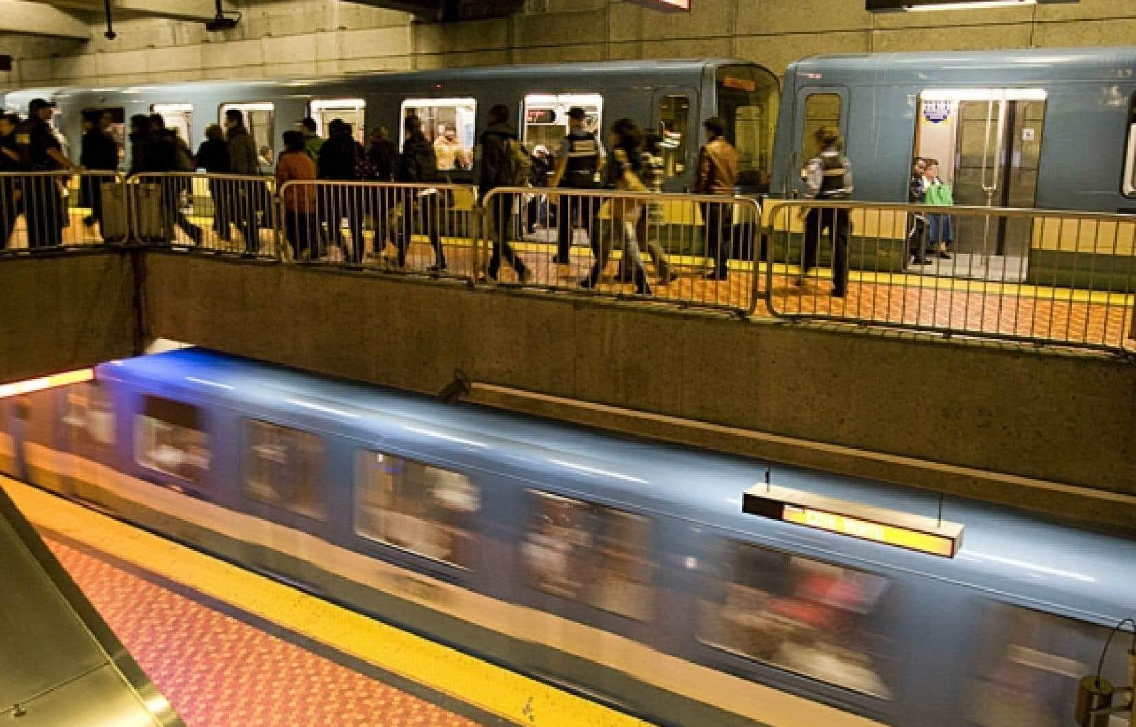 La facture du nouveau système de contrôle et de télécommunications du métro est passée de 50,6 millions à 196,8 millions.<br />