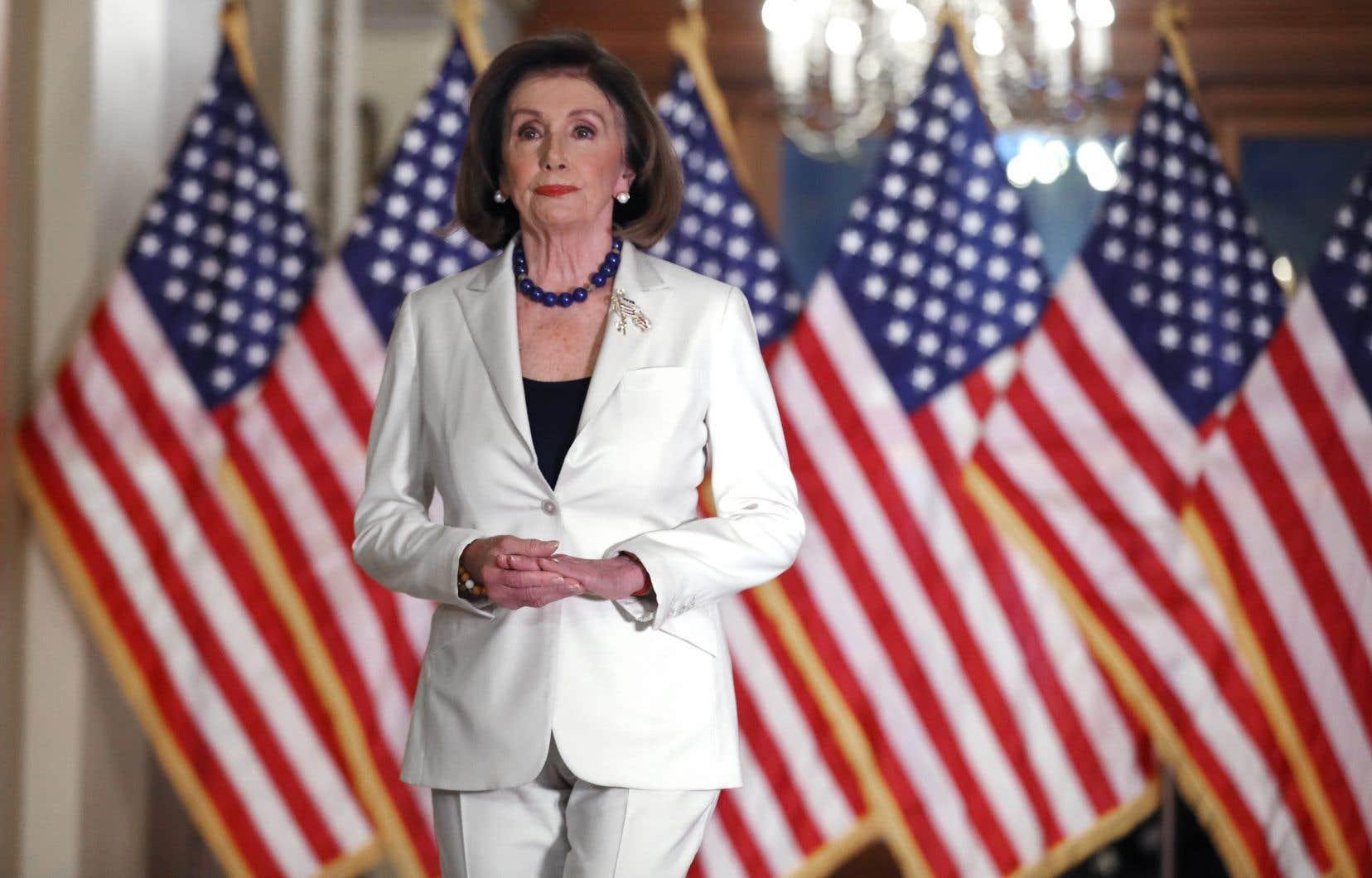La leader de la majorité démocrate à la Chambre des représentants, Nancy Pelosi