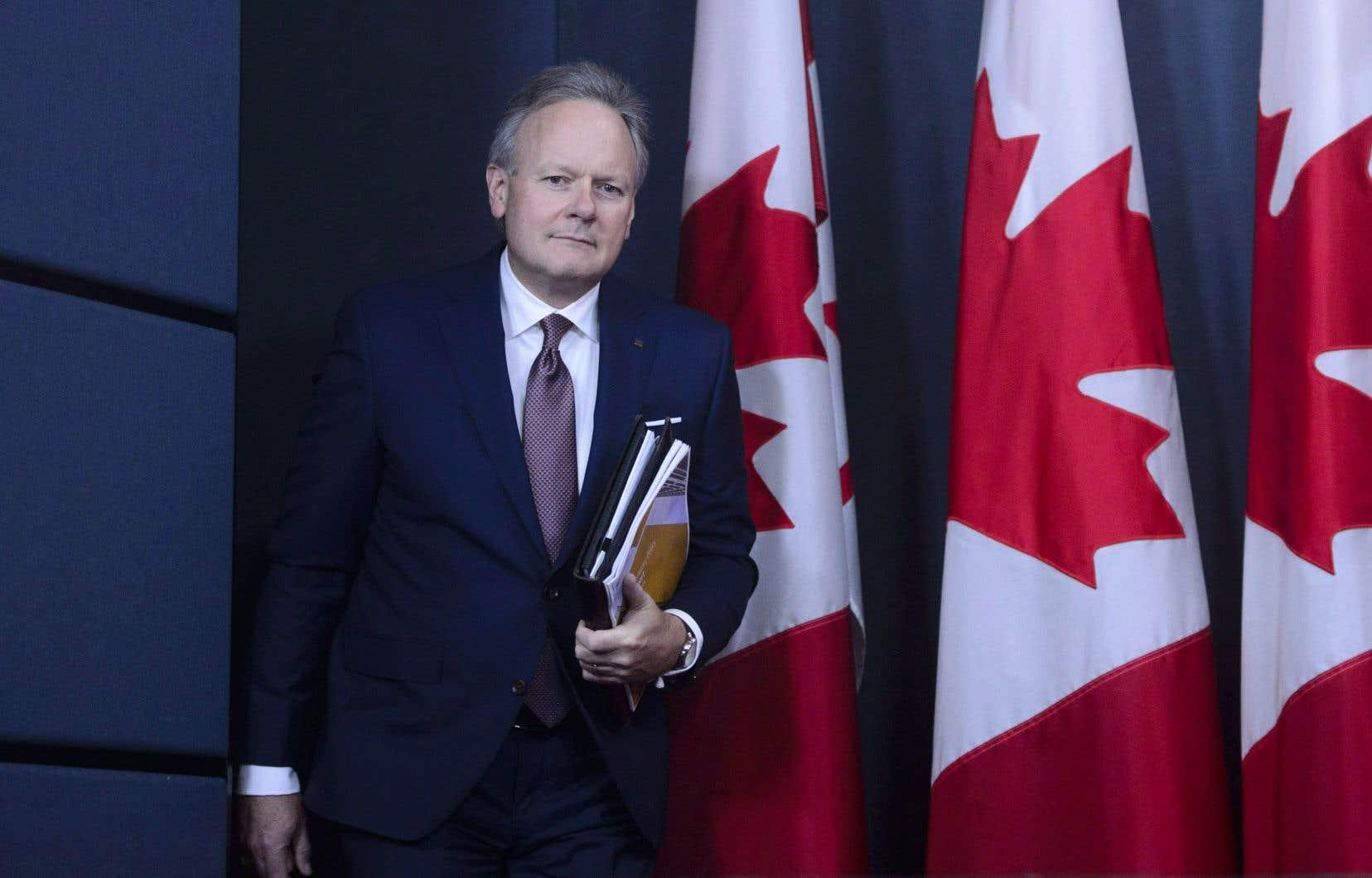 Le gouverneur de la Banque du Canada, Stephen Poloz, a décidé de ne pas solliciter de second mandat à l'échéance de celui de sept ans qu'il a entrepris en 2013 et qui doit prendre fin le 2 juin prochain.