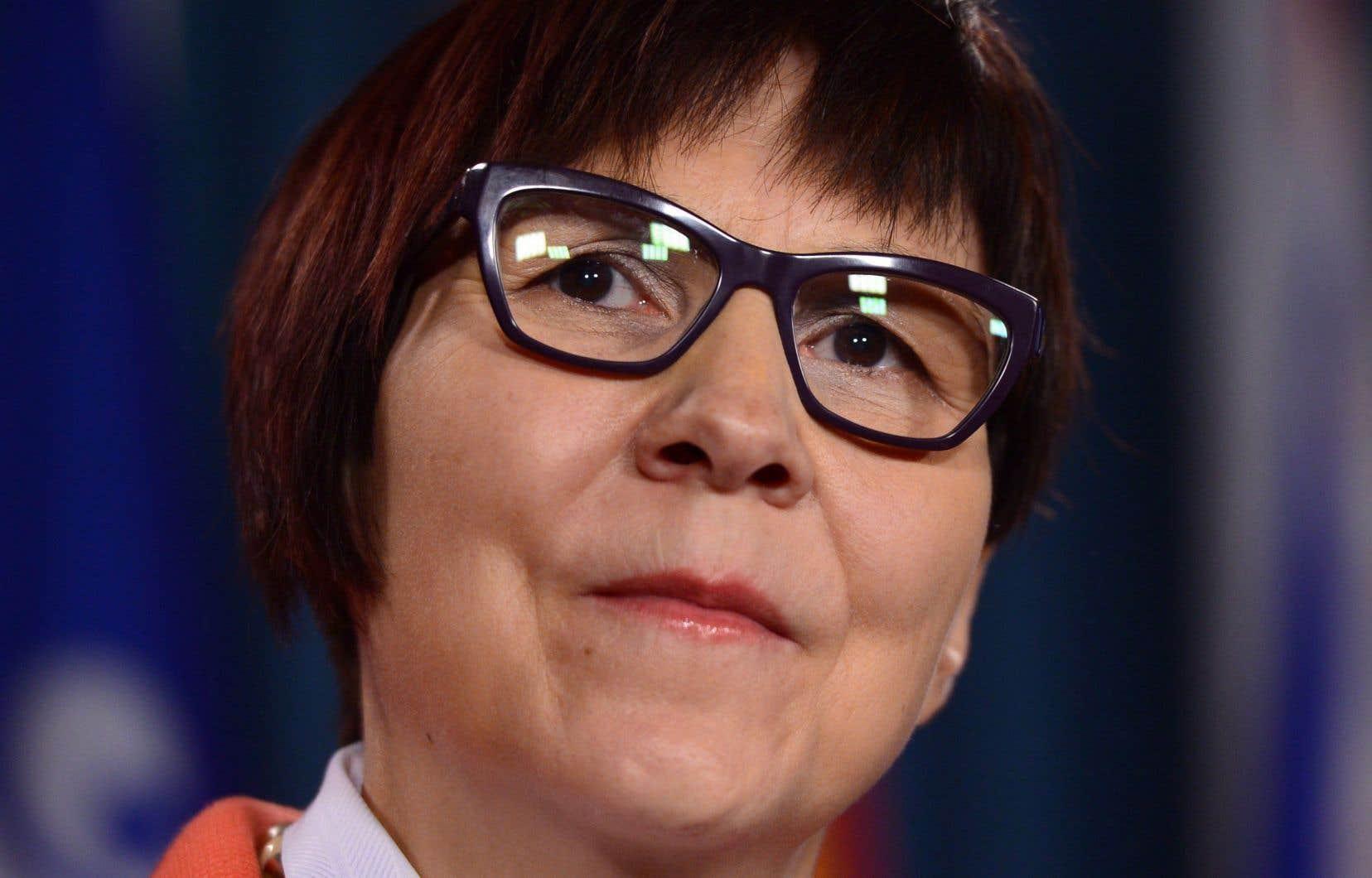 La directrice générale de la Société de soutien à l'enfance et à la famille des Premières Nations du Canada,Cindy Blackstock.