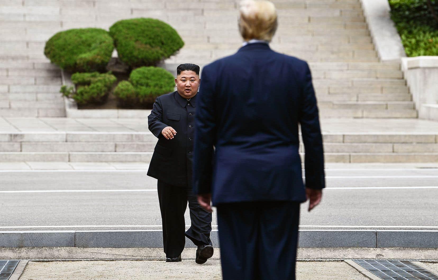 Le président américain croit que le dirigeant nord-coréen aurait «trop à perdre» s'il agissait de façon hostile.