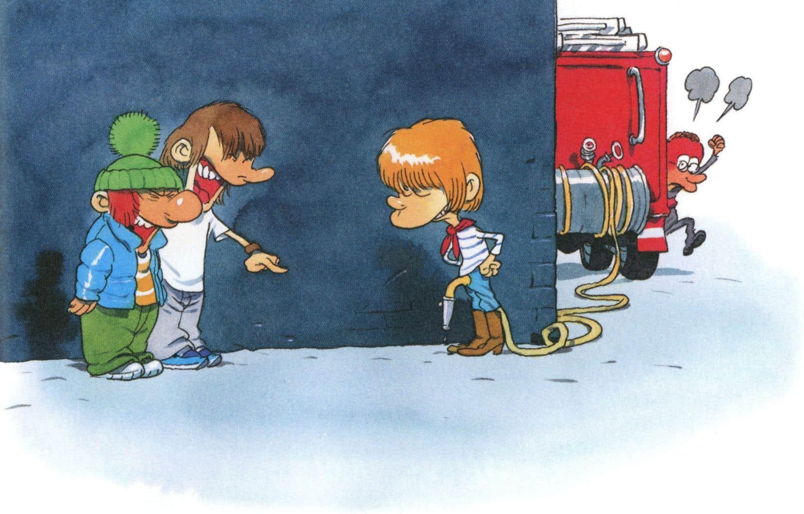 Images tirées du livre-album «Les mômes et les enfants d'abord», illustré par Zep