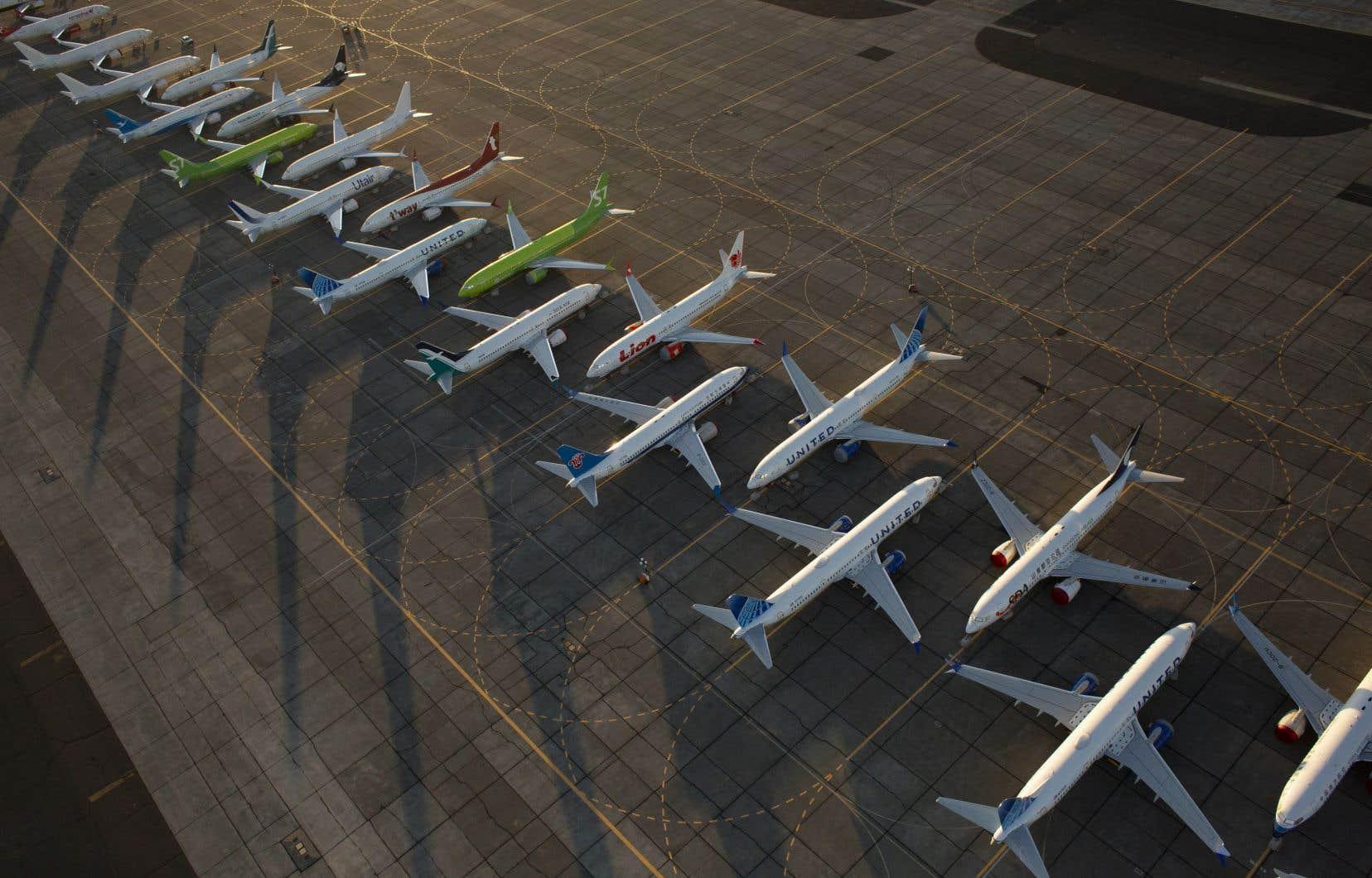 Le 737 MAX représente près de 80% du carnet de commandes de Boeing.