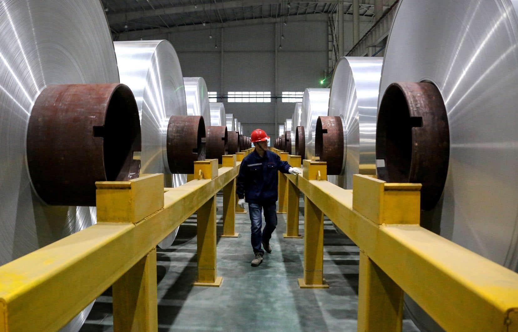 De l'aluminium chinois est transformé au Mexique, puis exporté comme étant de l'aluminium nord-américain.
