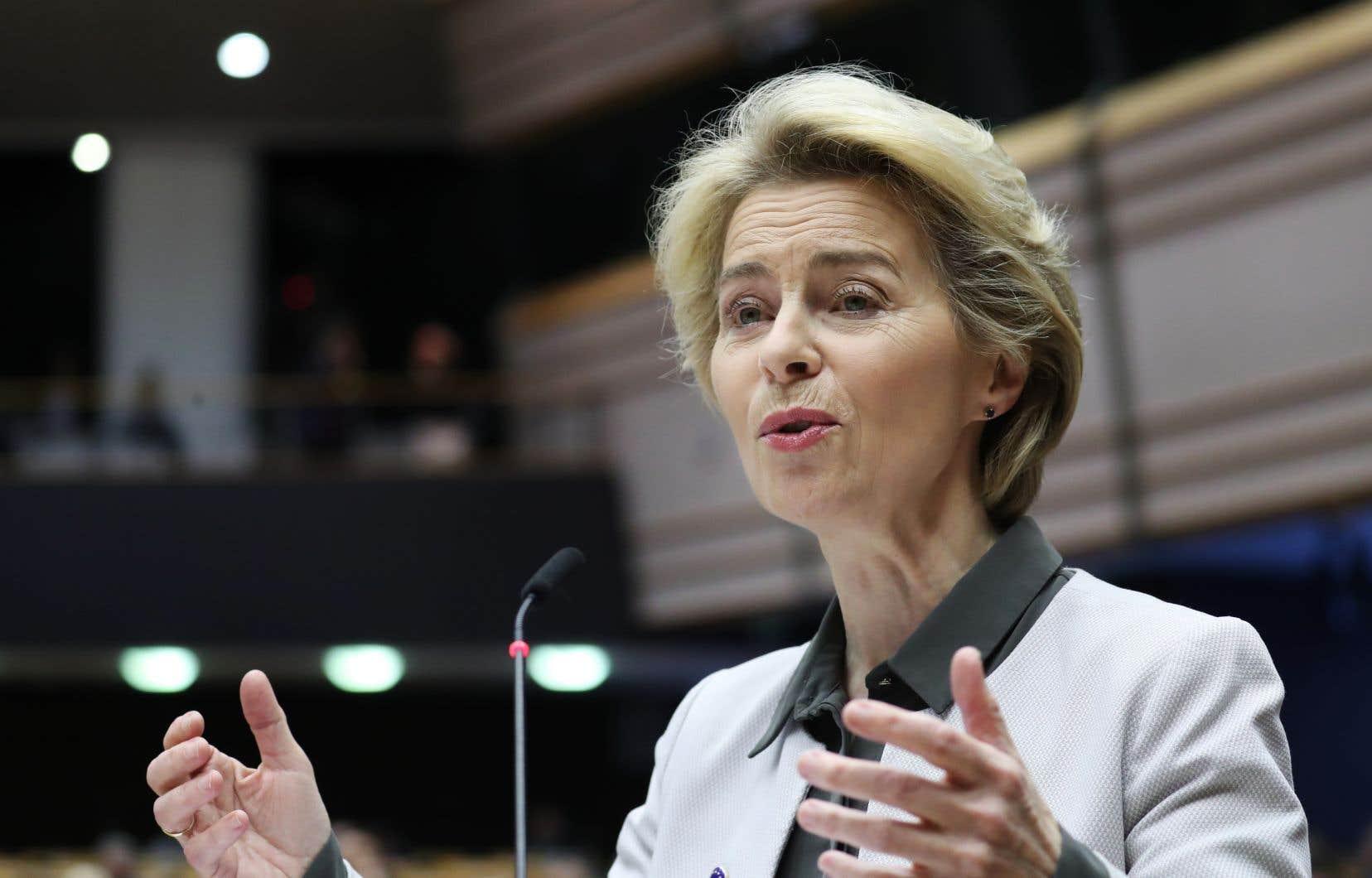 «C'est notre nouvelle stratégie de croissance», a commenté la présidente de la Commission européenne, Ursula von der Leyen.