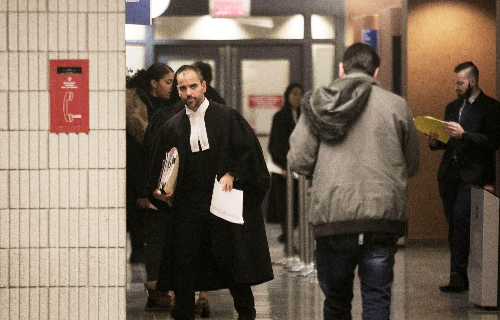 L'enquête sur cautionnement de l'accusé, Jean-Claude Rochefort, s'est tenue jeudi au palais de justice de Montréal.