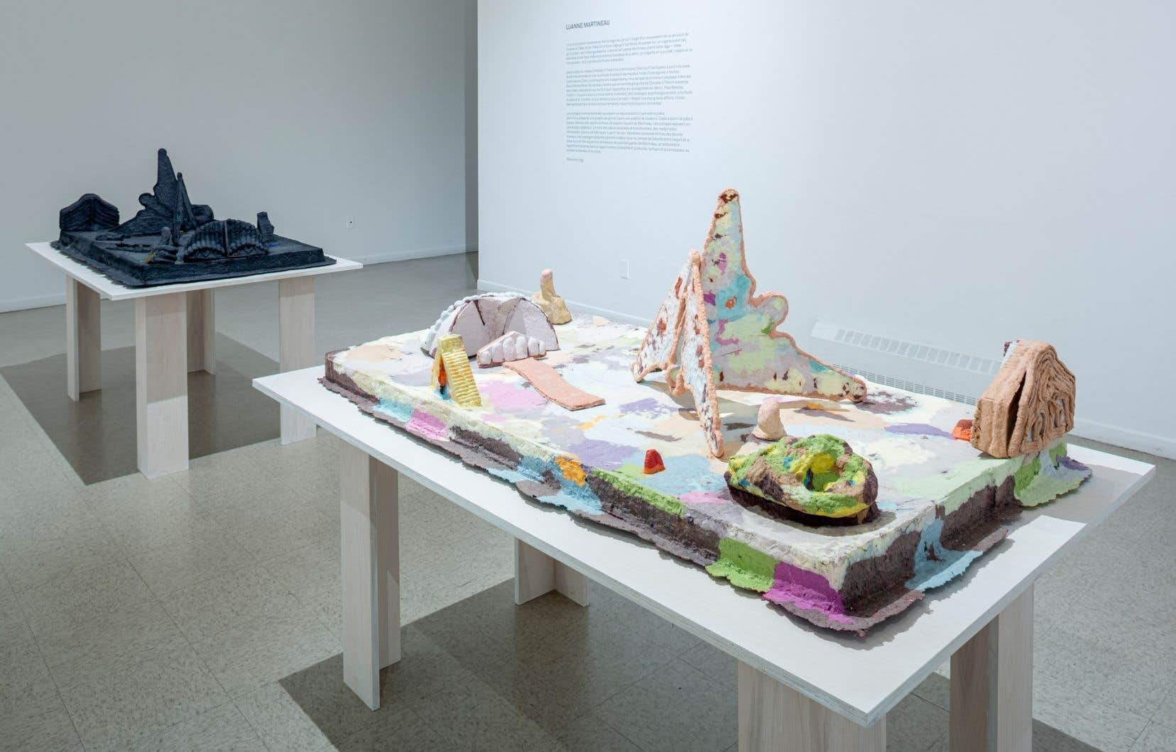 Luanne Martineau, «Fournier et Meleney», 2019