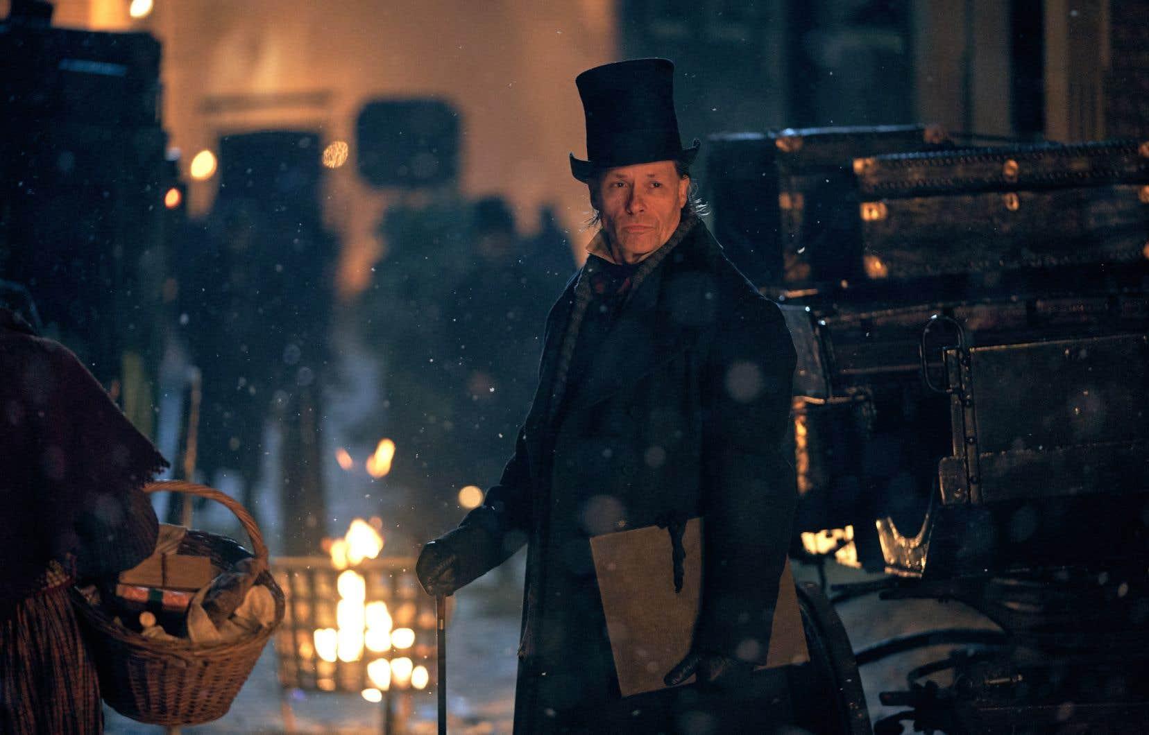 Le conte classique de Charles Dickens «A Christmas Carol»