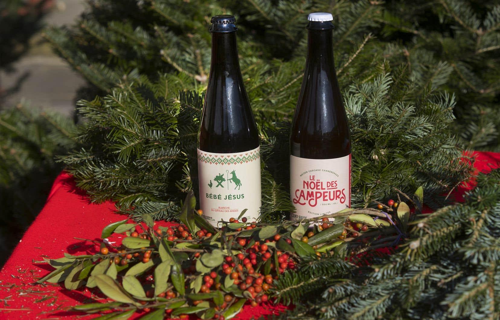 Deux bières de Noël