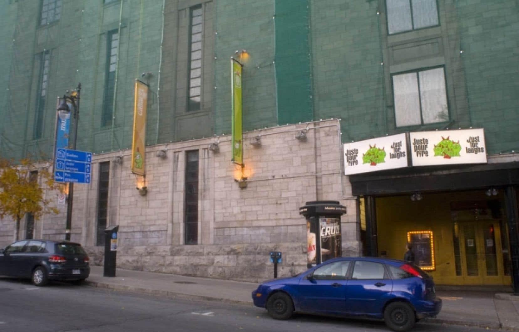 Le Musée Juste pour rire, situé sur le boulevard Saint-Laurent, à Montréal, mettra la clé dans la porte. Cette fermeture, effective le 1er janvier, était devenue inévitable.<br />