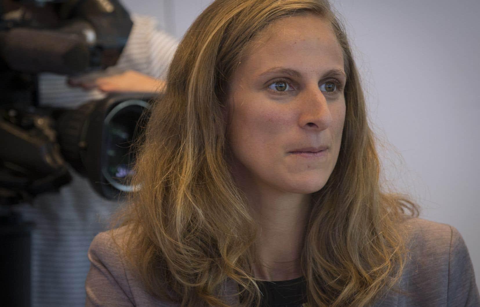 La députée de Québec solidaire Christine Labrie