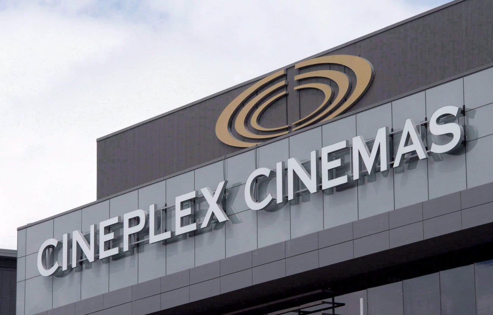 Cineplex prossède 165 salles de cinéma au Canada.