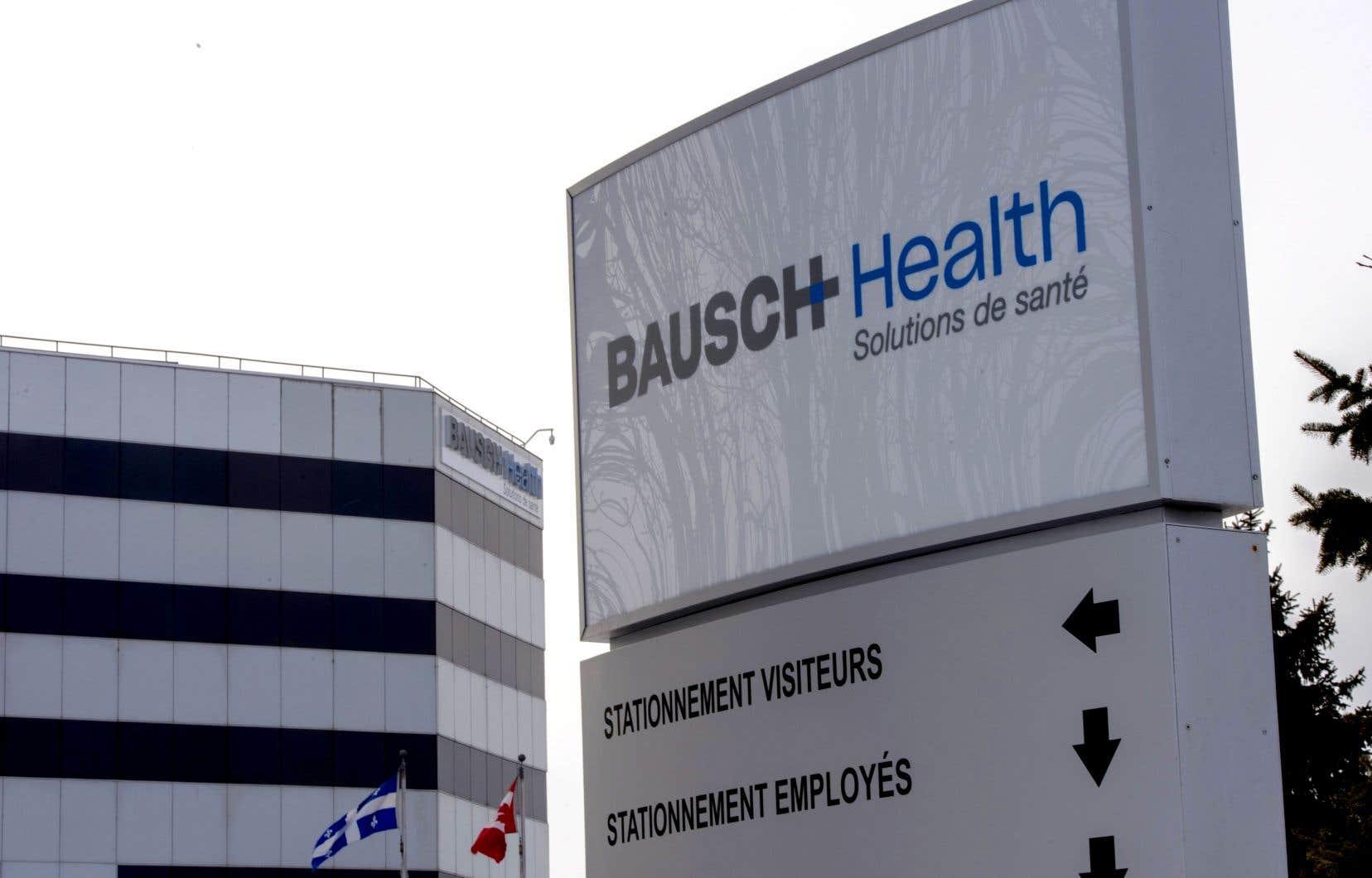 Selon Bausch Health, le paiement de 1,21milliard$ US permettra de mettre un terme à la plus importante action collective qui la visait.