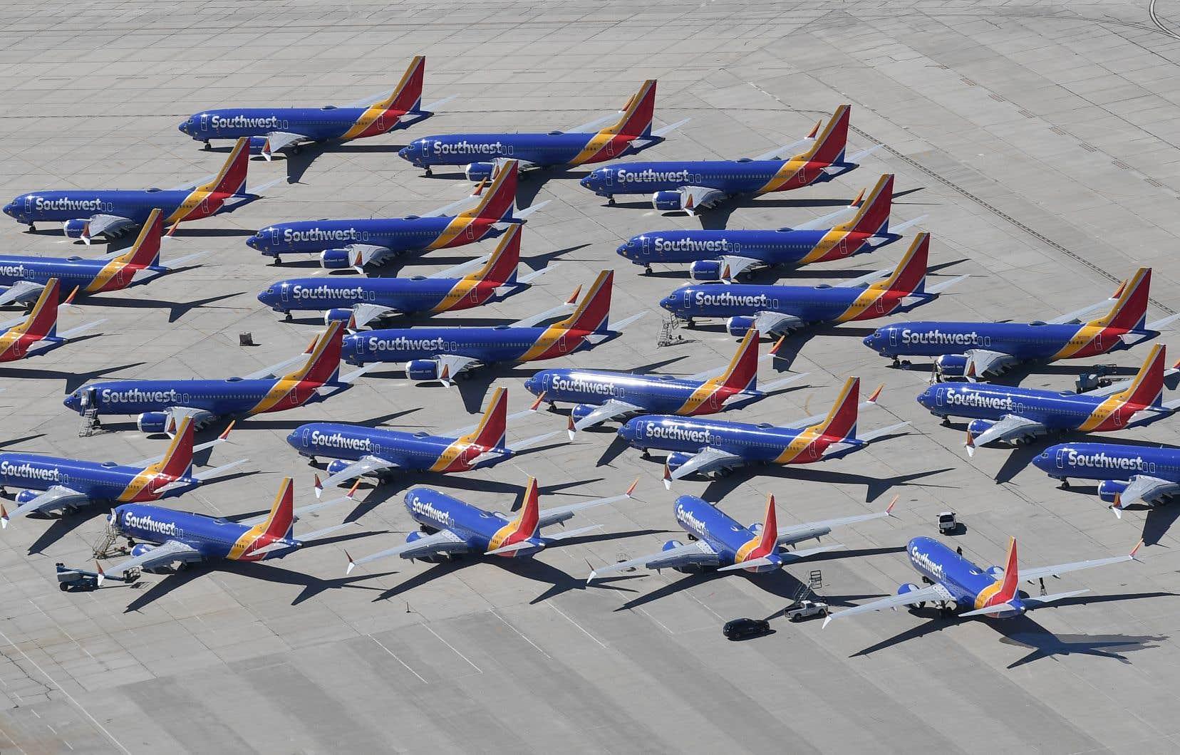 Le 737 MAX est cloué au sol depuis mi-mars après deux accidents ayant fait 346 morts.