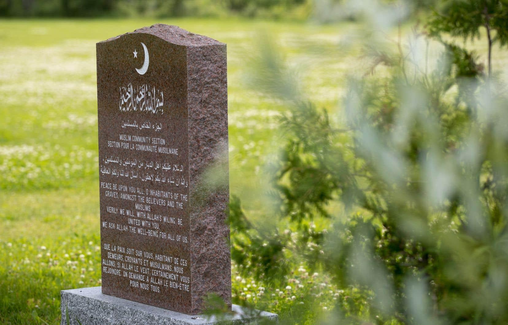 <p>Une fois toutes les étapes franchies, le terrain abritera le premier cimetière dédié à la communauté musulmane dans la capitale.</p>