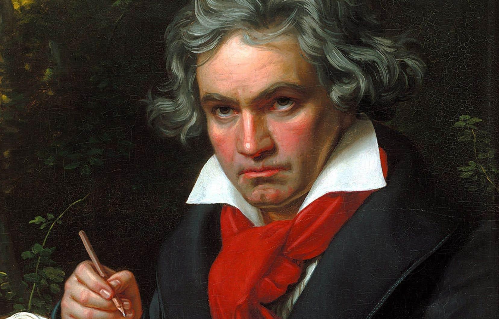 Un portrait de Ludwig van Beethoven par Joseph Karl Stieler, 1820